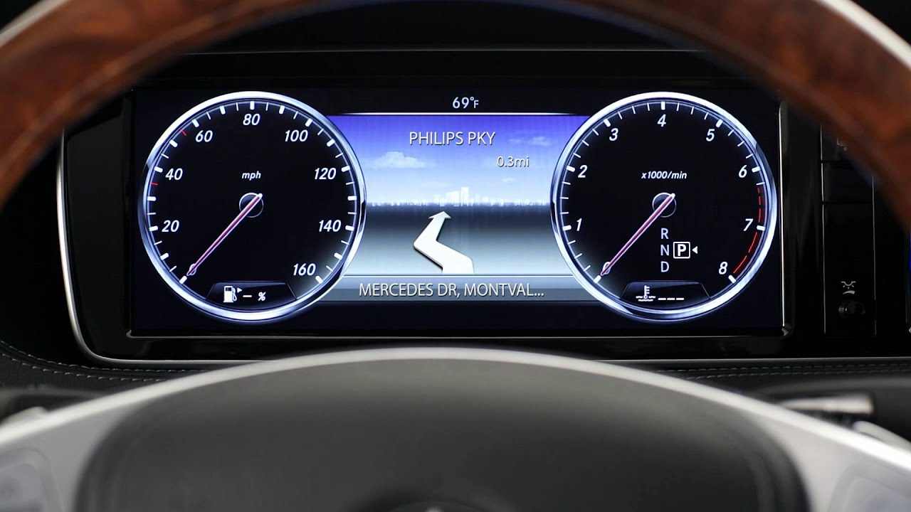 2014 S-Class Instrument Cluster -- Mercedes-Benz USA ...