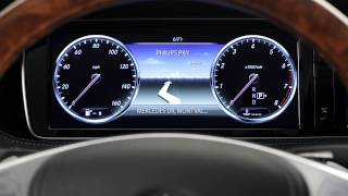 2014 S-Class Instrument Cluster -- Mercedes-Benz USA Owners Support