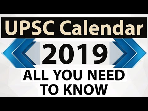 UPSC Calendar 2019 - Find out exam dates of all important exams in 2019 - Start Preparing Mp3