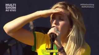 ellie goulding lights lollapalooza brasil 2014