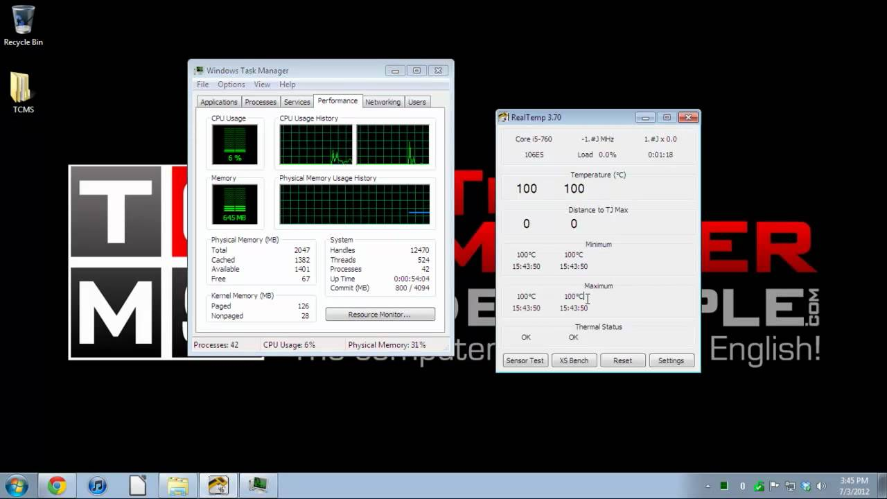 How to Monitor Computer Temperature (CPU & GPU)(Intel only)