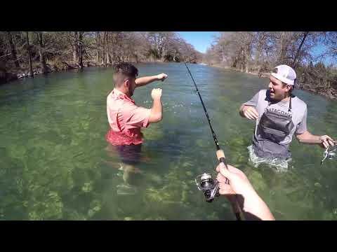 Frio River Bass Fishing 2019