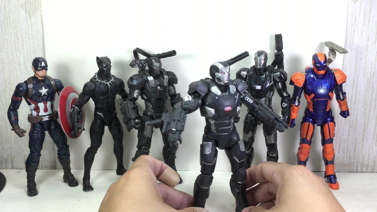 war machine marvel legends