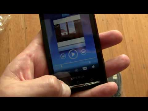 Sony Ericsson Xperia X10 Unboxing and Hands-On