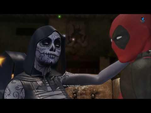 Deadpool PS4: Deadpool & Death Love Scenes