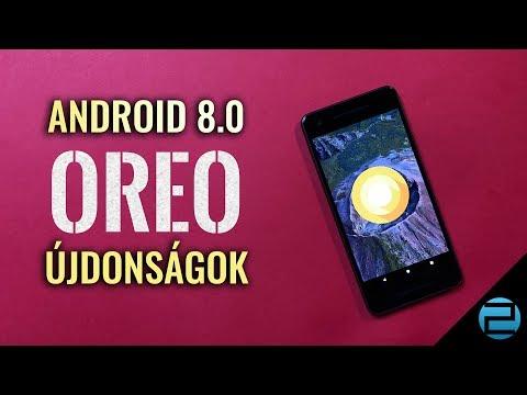 Android 8.0 Oreo újdonságok
