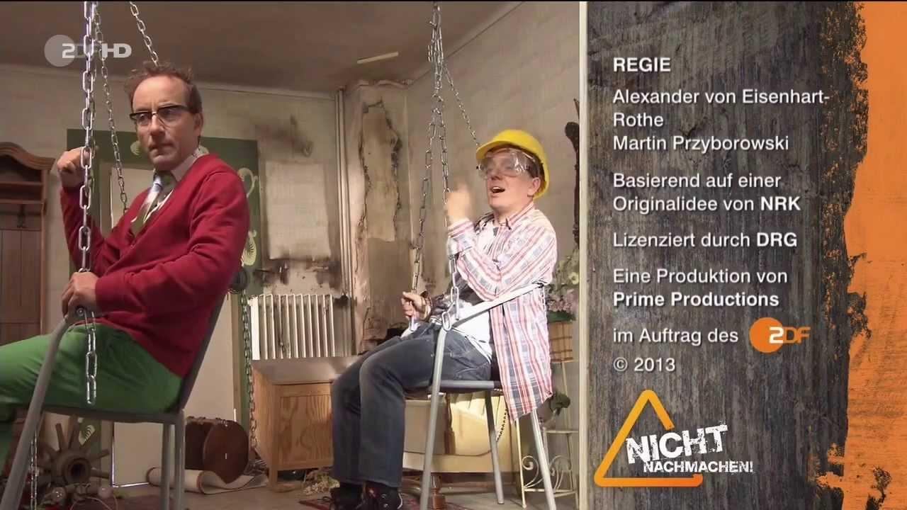 zdf nicht nachmachen 2013 staffel 2 folge 1 vom in hd bernhard hoecker wigald boning. Black Bedroom Furniture Sets. Home Design Ideas