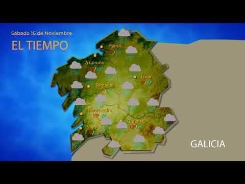 Previsión meteorológica Ourense 15 noviembre 2019