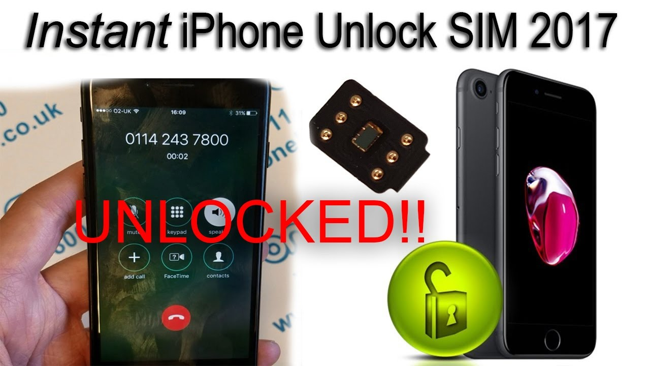 new instant iphone unlock sim unlock iphone 7 ios 10 3 1 phone call test youtube. Black Bedroom Furniture Sets. Home Design Ideas