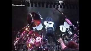 KISS - Eric Carr Drum Solo &  War Machine - Budokan Hall,Japan 1988