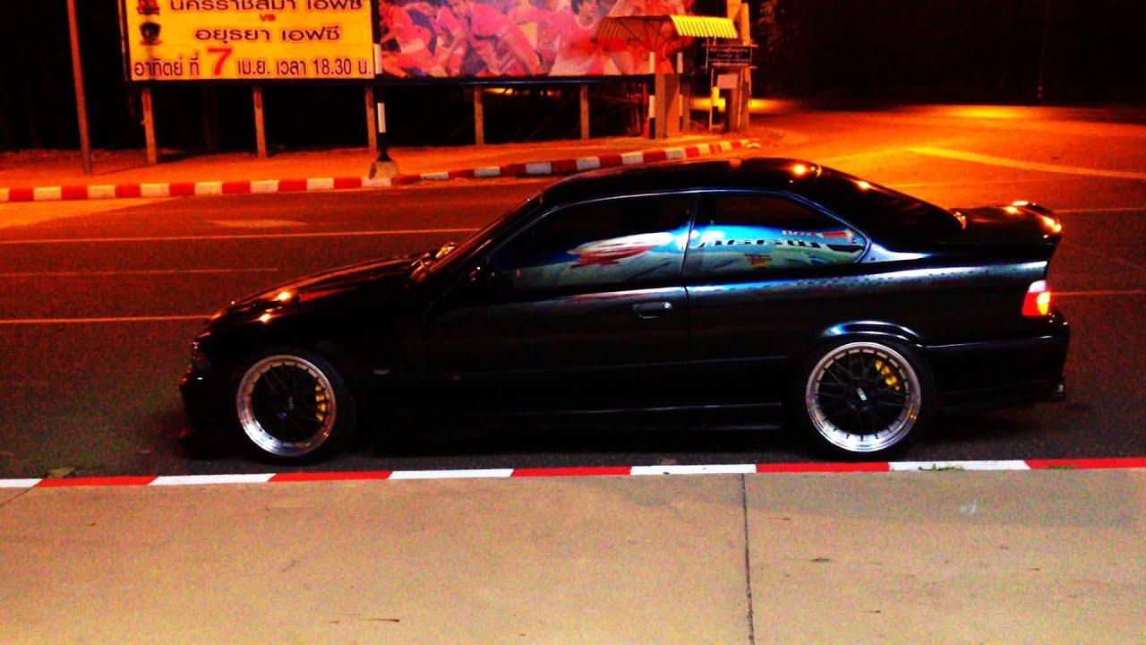Bmw E36 Coupe 2jz Gte Hks F Con V Pro Side View Youtube