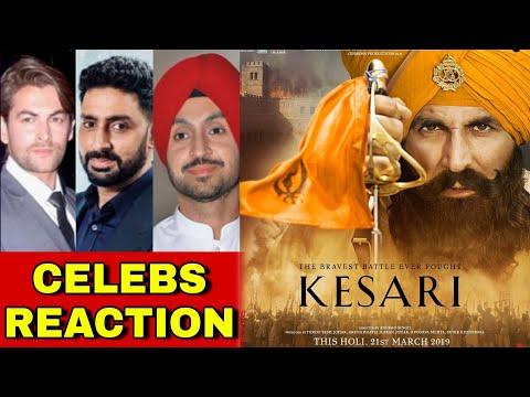 Kesari Trailer Celebrities Reaction, Akshay Kumar React to Tweets, Abhishek Bachchan