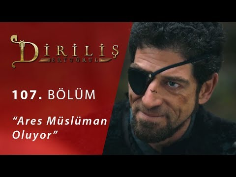 """Ares Müslüman oluyor - Final Sahnesi - Diriliş """"Ertuğrul"""" 107.Bölüm"""