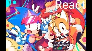 Reacting to: Sonic Mania - Settin' the scene (MAP)