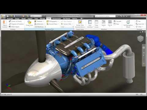 Autodesk Inventor 2011 — Visualization