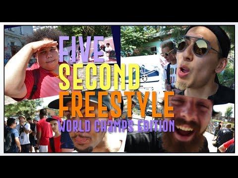 5 Second Freestyle | Beatbox Battle World Championships Edition