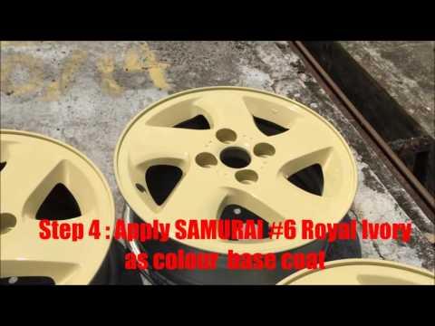 SAMURAI WATER TRANSFER FILM CAR MAGS