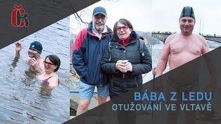 Film roku Bába z ledu: Otužování ve Vltavě - Zuzana Kronerová, Pavel Nový