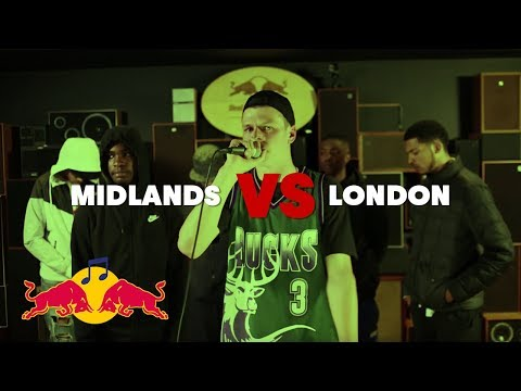 Red Bull Mind The Gap Cypher: Midlands vs London