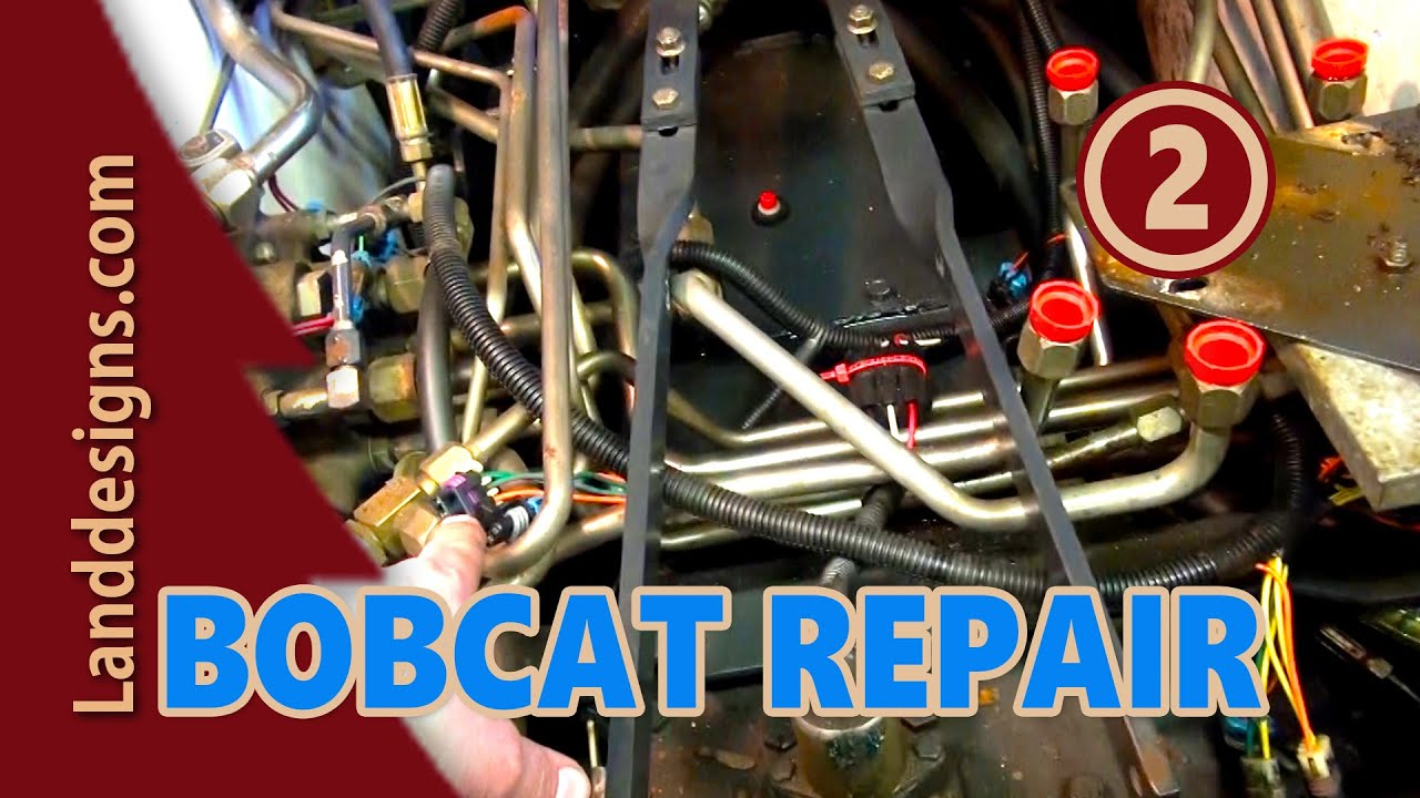 bobcat hydraulic repair 2 [ 1280 x 720 Pixel ]