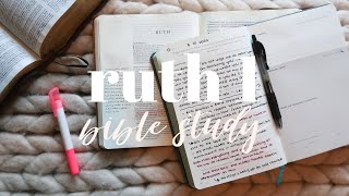 BIBLE STUDY WITH MË | Ruth 1