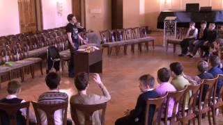 Открытый урок по актёрскому мастерству и сценической речи Сергея Васильева