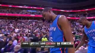 Kevin Durant Reigns Down the Poster Dunk on Marcin Gortat