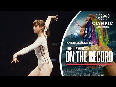 Nadia Comaneci's Perfect Ten In Montreal 1976 | The Olympics On the Record