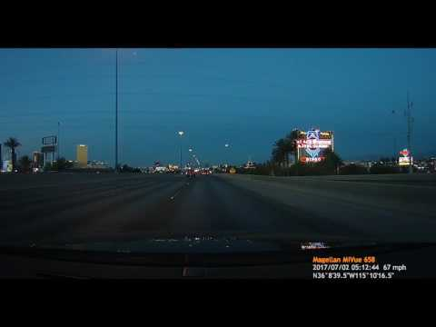HD Driving from West Las Vegas to Boulder City