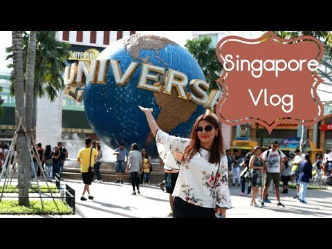 Travel Vlog : Singapore | Day 3 | Universal Studios | Sentos