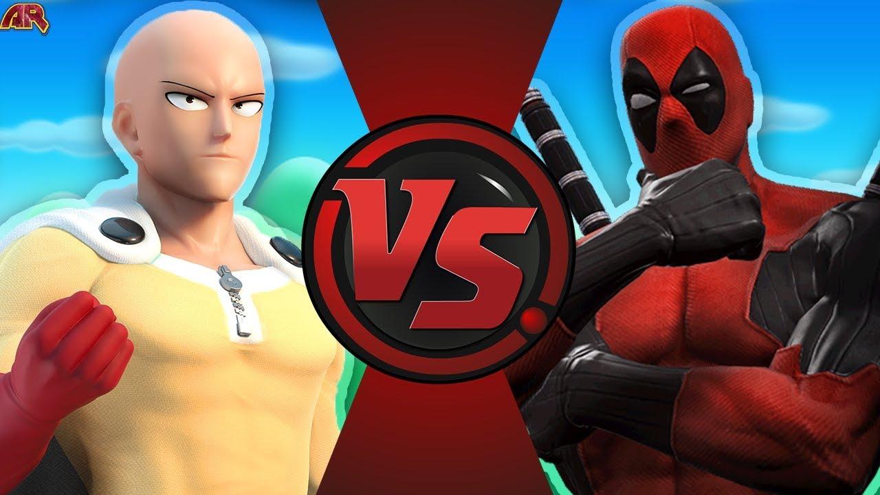 Download SAITAMA vs DEADPOOL 2! (One Punch Man vs Deadpool REMATCH)   Cartoon Fight Club