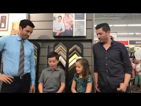 MUST WATCH: KIDS ING THE PROPERTY BROTHERS