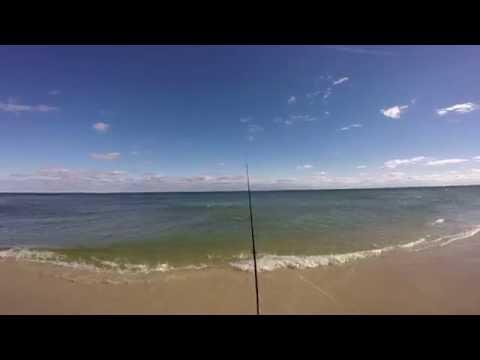 Island Beach State Park  11/22/16  Epic Fishing