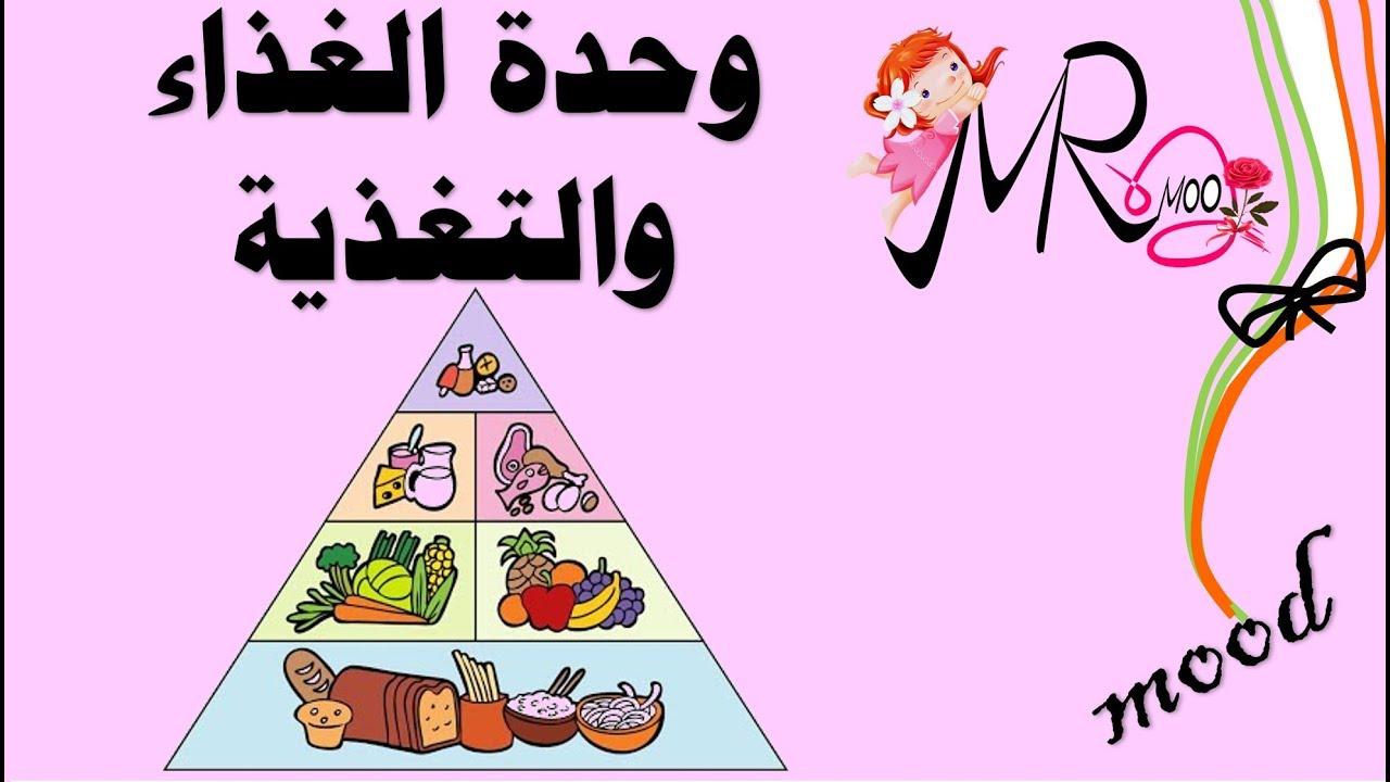 وحدة الغذاء والتغذية Youtube