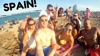 Spain 🇪🇸  Amazing Trip Around the Coast   GoPro