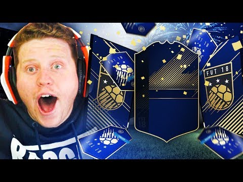 OH MY GOD I Got MY FIRST TOTY In FIFA 18