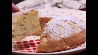 Легкий рецепт шарлотки с яблоком | Классическая яблочная шарлотка