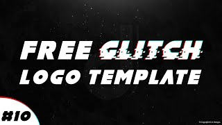 Free Glitch Logo Template #11 | D.U. Designs