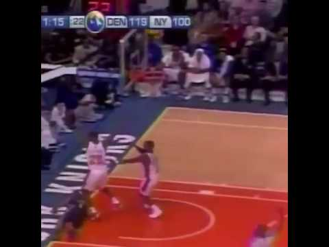 Looked up NBA fights and found that the last major fight (Knicks v Nuggets, Melo Cheapshot) involved .... Nate Robison