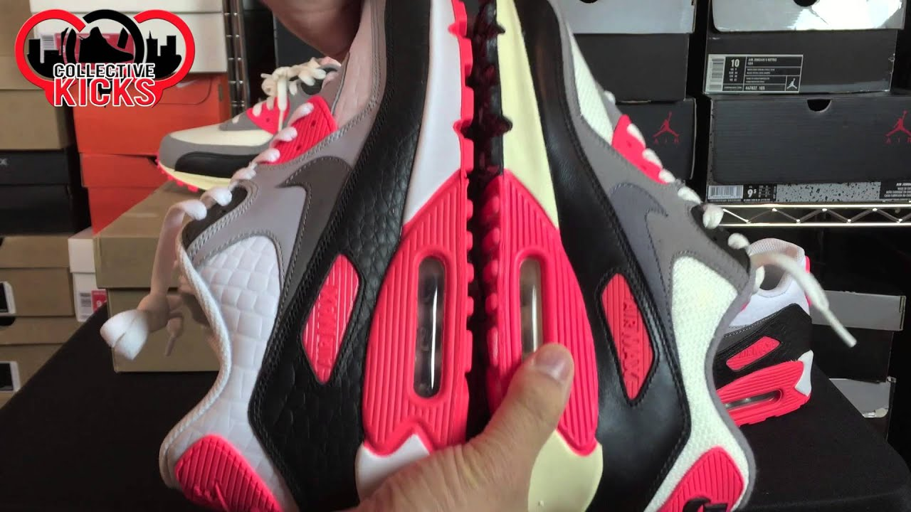 Infrared Air Max 90 2012 vs My @NikeID! (Review + On Foot)