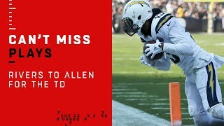 Philip Rivers Finds Keenan Allen for a TD Just Before Halftime