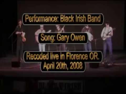 Black Irish Band- Garyowen