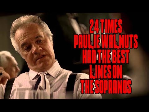 """24 Times Paulie Walnuts Had The Best Lines On """"The Sopranos"""""""
