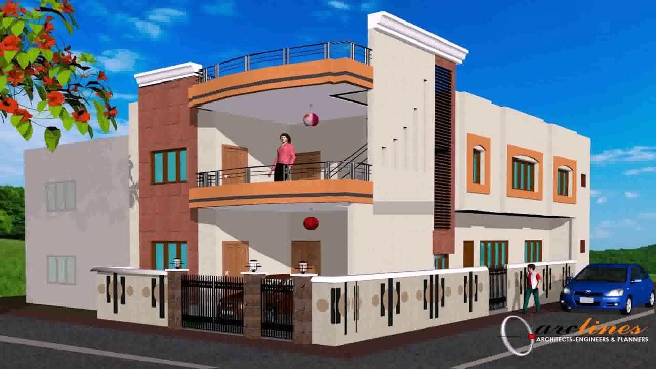 House design for 100 gaj youtube for Best house design in 100 gaj