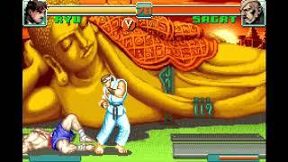 [TAS] Super Street Fighter II X Revival - Ryu