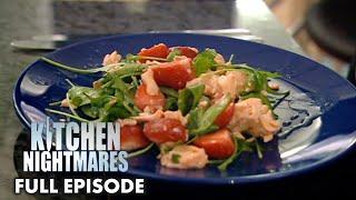 Gordon Served Salmon & Strawberry | Kitchen Nightmares FULL EPISODE