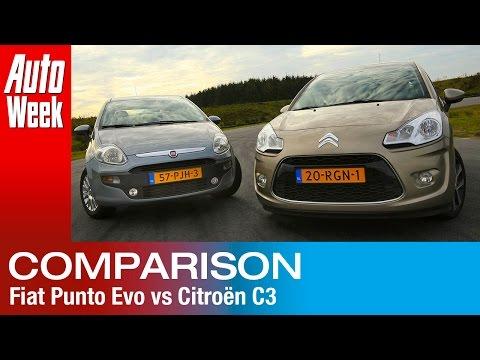 Occasion dubbeltest  Fiat Punto vs Citroën C3