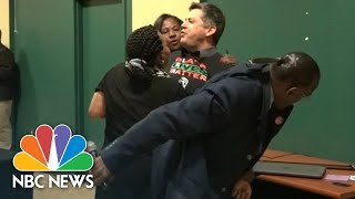 Pete Buttigieg Support Rally Interrupted By Black Lives Matter Protesters | NBC News
