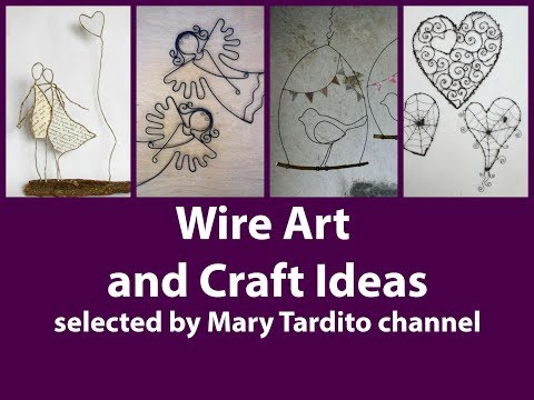 Wire Art and Craft Ideas - Crafts to Make and Sell