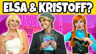 SHOULD ELSA MARRY KRISTOFF? (Or Should Frozen Anna Get Married to Kristoff?) Totally TV